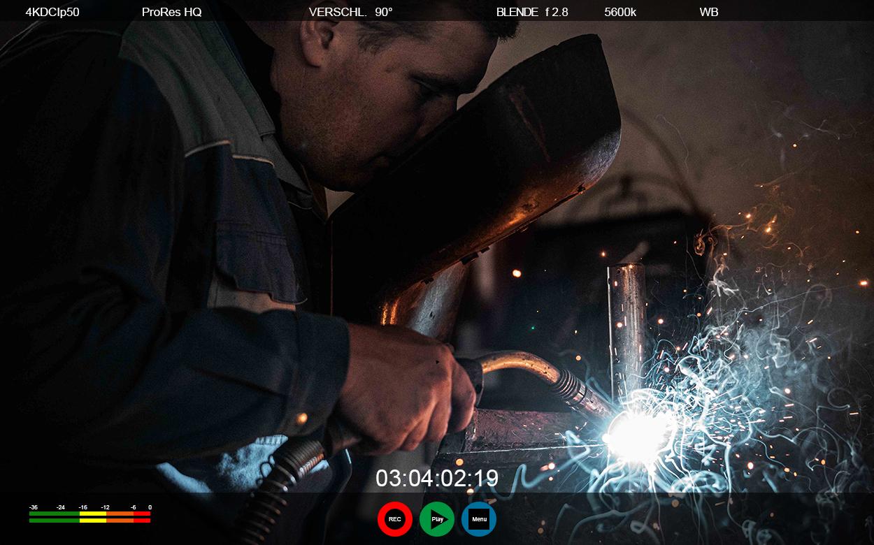 Website-Bildschirm-Aufnahmme-Produktion